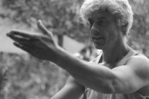 Goda Gábor portré, fekete-fehér